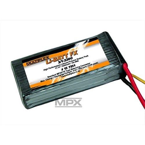 multiplex-fx-3-1-2200-m6-bateria-pila-recargable-juguete-negro