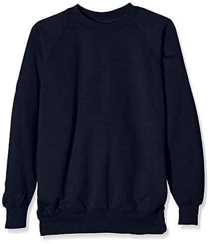 J Masters Schoolwear Unisex Crew Neck School Sweatshirt, Pull Garçon,