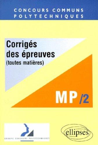 La filière MP 2 par Collectif