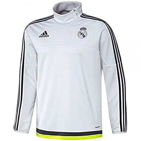ADIDAS Sweat manche longue Du Real Madrid Maillot D 'Entrainement Football Officiel de l'Equipe du REAL MADRID (XXL)
