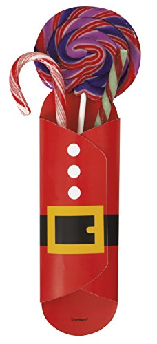 Santa Christmas Sweet Holders, Pack of 8