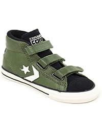 Converse - Zapatillas de Piel para niño verde Verde