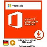Microsoft® Office 2019 Standard 32 bit & 64 bit Vollversion Original Lizenzschlüssel per Post und E-Mail + Anleitung von TPFNet - Versand maximal 60Min