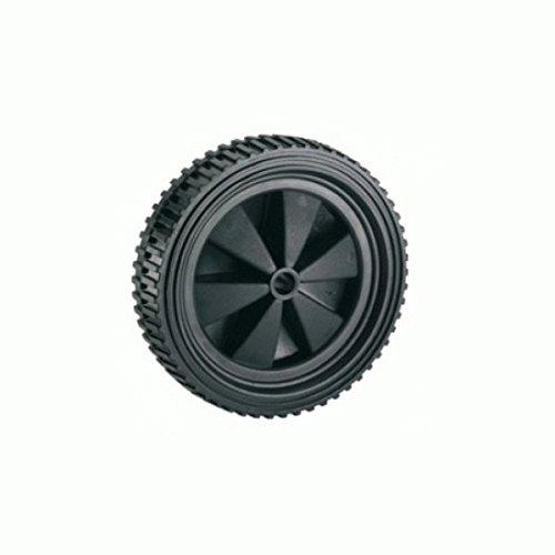 Dörner + Helmer 709150 PVC-Rad schwarz mit Stollenprofil 150 x 32 x 12 mm Nabenbreite 34 mm (Rad 12)