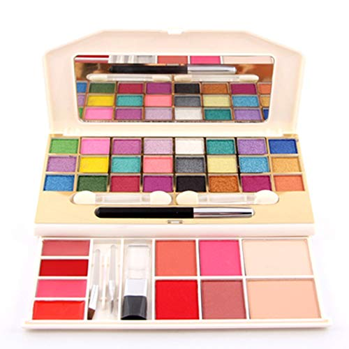 EdBerk74 7002-008Y Multifunktions-Make-up-Box Lidschatten + Rouge + Concealer-Palette Glitzer-Kosmetikset Shimmer Lidschatten-Palette