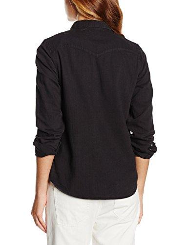 Levi's Modern Western, Camicia Donna Nero (BLACK INK 3)