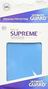 Ultimate Guard ugd010558UX Supremo Fundas Standard Tamaño Mate luz Azul (80)