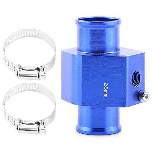 VGEBY Temperatura del agua del automóvil Temperatura Junta de tubo de la junta Sensor Radiador Manguera Adaptador Azul 26-40MM ( tamaño : 28MM )
