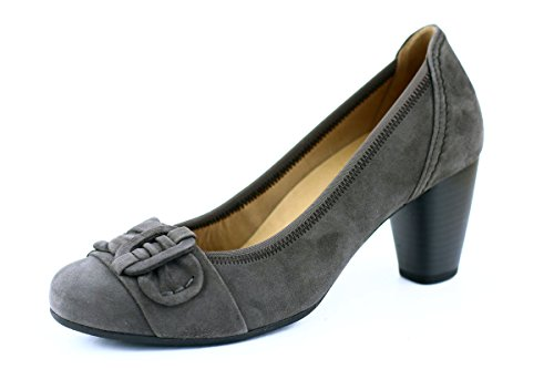 Gabor Pumps zinn grau Schleife best fitting Grau