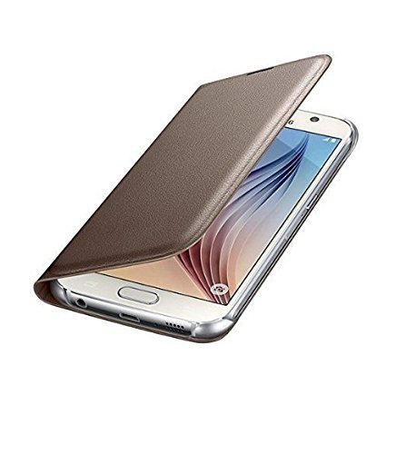 ELICA Leather Flip Cover for LETv Le 1s (Gold)