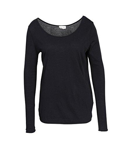 American Vintage Damen Shirt Joc in Schwarz Carbone