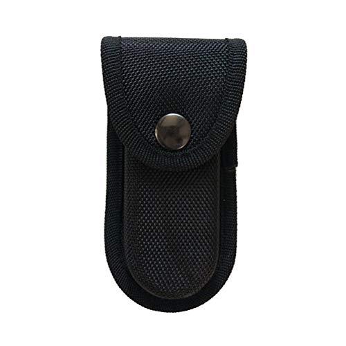 LIOOBO Oxford Tuch Angeln Zangen Mantel Elektriker Schere Schweißen Zangen Gürtel Halter Gartenwerkzeug Tasche Tasche - Größe S (Schwarz) -