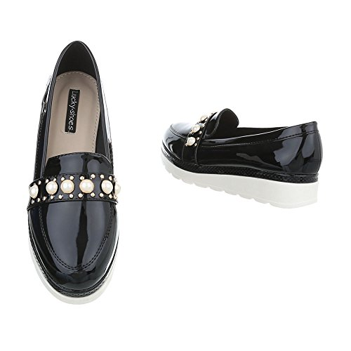 Ital 60 Slitta 68 Pantofola Pantofola Nera Mocassino design qczy8nwF5