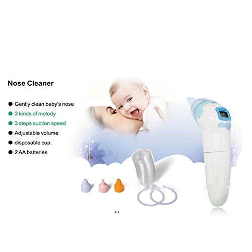 Elektrischer Nasenreiniger Baby Nasensauger Mit LCD - Bildschirm Und Licht Sicher Hygienisch Für Neugeborene Und Kleinkinder
