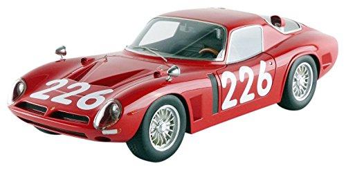 tecnomodel-mythos-tm1833b-bizzarrini-5300-gt-targa-florio-1966-echelle-1-18-rouge