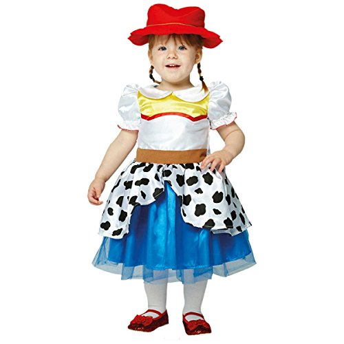 amscan x-DCJES12 Toy Story Kinderkostüm Jessie Premium, 80-86 cm (Story Für Toy Babys Halloween-kostüme)