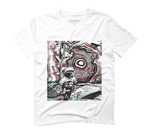 Sublime Space Men's 3X-Large White Graphic T-Shirt - Design By Humans (T-shirt Juniors Sublime)