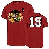 NHL Chicago Blackhawks Herren T-Shirt Player OTS Rival, Jonathan Toews/Red, Größe XL