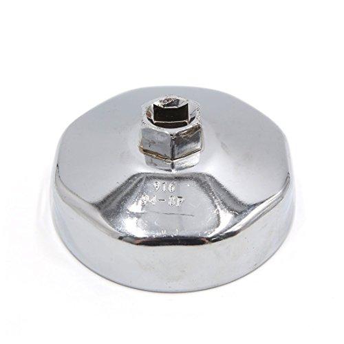 Quadratischen Sockel (sourcingmap 13mm Quadratischer Sockel 8 Flöten 94mm Kappen Type Öl Filterschlüssel für Auto)