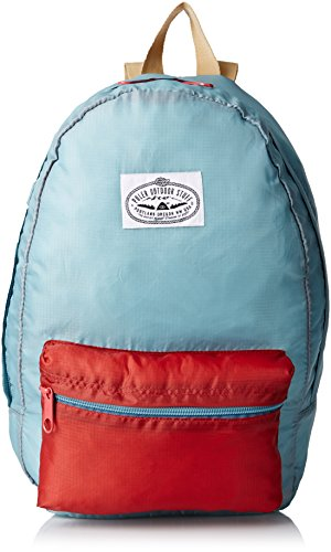 Accesorios Bagpack cosas capaces Poler Verde Newport/Red Talla:20 x 15 x 6 cm, 15 Liter