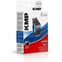 KMP C43 - Cartucho de tinta Canon BX3 0884A002, color negro