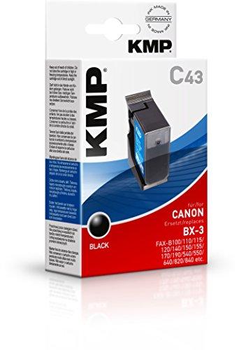 Preisvergleich Produktbild KMP C43 Tintenpatrone (ersetzt BX2/BX3) black