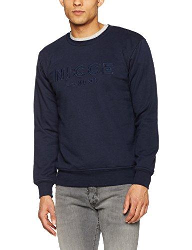 Nicce London Herren Sweatshirt Dali Sweat Navy blau (marineblau)