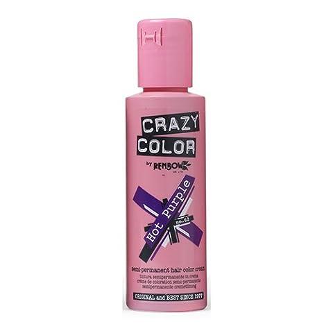 Renbow Crazy Colour Hot Purple Crème Semi-Permanent 100 ml