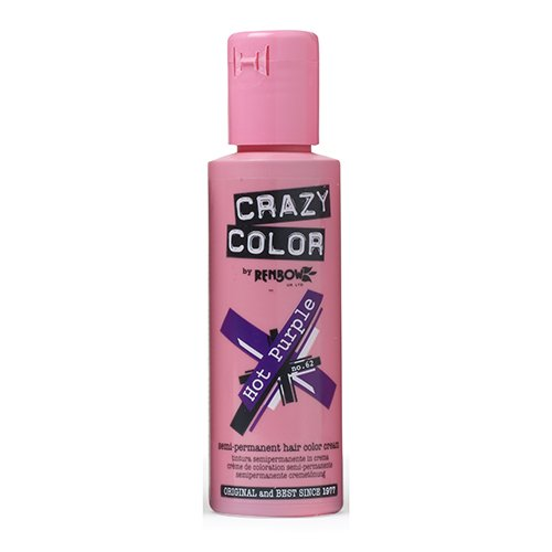 Crazy Color CRC021 Coloration Permanente Hot Purple