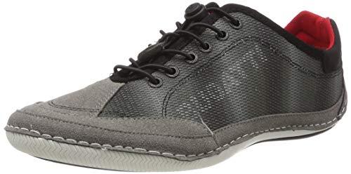 bugatti Herren 321480075400 Sneaker, Grau (Dark Grey 1100), 40 EU