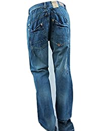 LEE COOPER Mid Blue Straight Leg Regular Fit Jeans