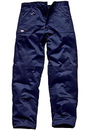 Dickie - Pantalones de trabajo Redhawk, color azul marino