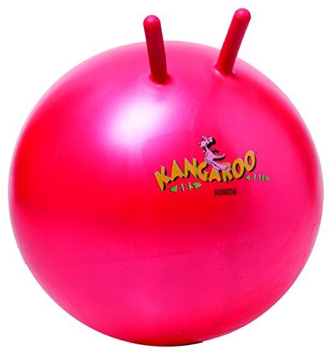 Togu Kangaroo Ball ABS Sprungball platzsicher, rubinrot, 60 cm