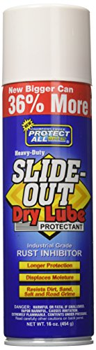 Protect All 40003 Slide-Out Dry Lube Protectant - 16 oz. by Protect All