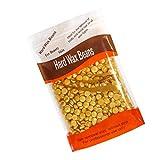 300Gramo Depilación Frijoles de Cera Natural Depilación sin dolor Natural para Hombre/Mujer - Oro