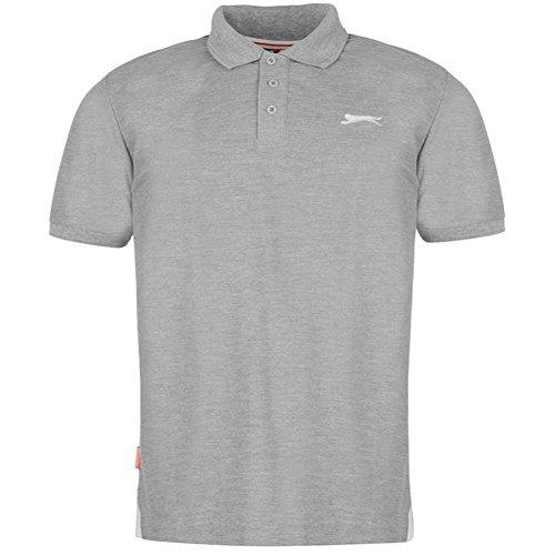 Slazenger Herren Polo Poloshirt 2014, S-4XL Grey