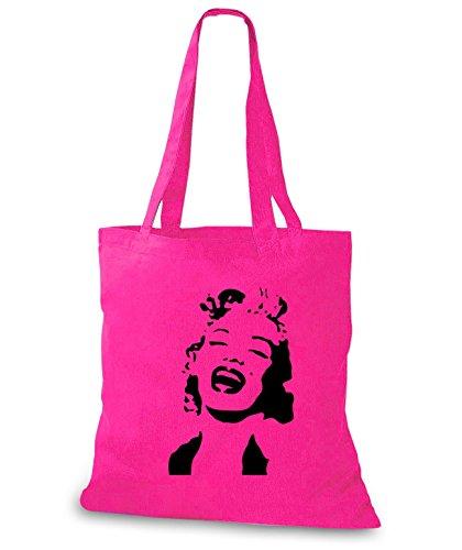 StyloBags Jutebeutel / Tasche Marilyn Pink