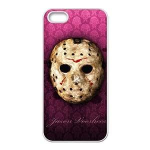 Preview Jason Voorhees coque iPhone 4 4S cellulaire cas coque de téléphone cas blanche couverture de téléphone portable EOKXLLNBC24557