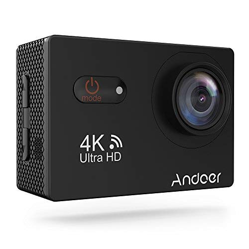 Andoer an9000 4k 1080p azione macchina fotografica touchscreen 16mp videocamera con l'alloggiamento impermeabile 170° grandangolare con sony image sensore