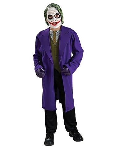 Dark Knight Kostüm, Kinder Batman Joker Kostüm Style 1, groß, Alter 8–10, Höhe