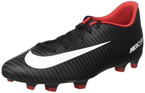 Nike mercurial vortex iii fg scarpe da calcio uomo, nero (noir/gris foncé/blanc) 44 eu