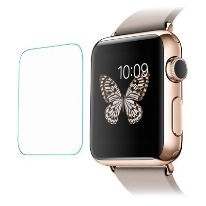 Johra Tempered Glass Screen Protector for Apple Watch 38mm