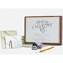 Calligraphy Kit by Kirsten Burke - Beginners Gift Set - Adult Starter Kit