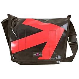 Sturm & Drang – Maxi borsa messenger bag in tela cerata