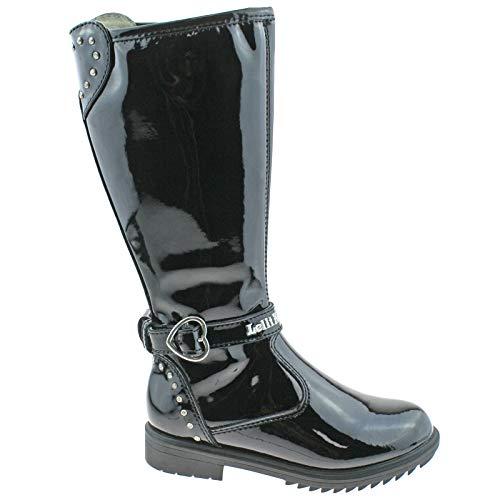 Bild von Lelli Kelly LK3648 (DB01) Charlotte Black Patent Boots-32 (UK 13)