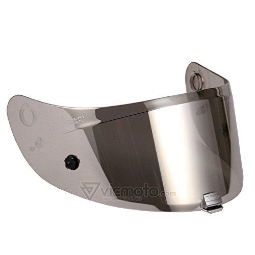 Preisvergleich Produktbild HJC HJ-20P Visier/Motorradhelm-Zubehör, für Pinlock-Verschlüsse geeignet, für R-PHA 10Plus-Helme, hergestellt in Korea, Silber