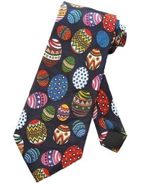 Steven Harris alevros Pasqua uova uovo cravatta - taglia unica - Blu