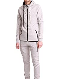 Ensemble Survêtement Jogging Tech Cabaneli Gris