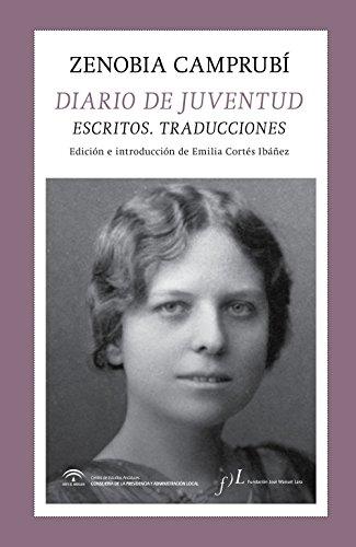 Diario de juventud: Escritos. Traducciones por Zenobia Camprubí