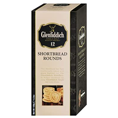 Walkers Glenfiddich Whisky Shortbread Rounds, Scottish Shortbread, Cookie, Biscuit, 150 g